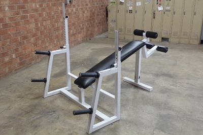 Olympic Decline Bench - Used