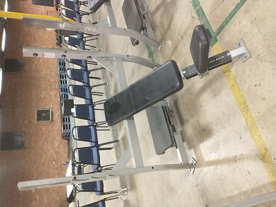 Hammer Strength Olympic Incline Bench - Used