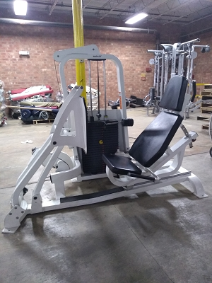 Hoist selectorized Leg Press - Used