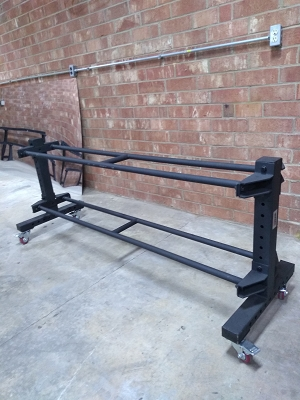 Wall Ball Rolling Rack - New