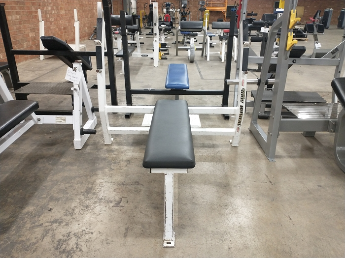 Body Masters Olympic Flat Bench - Used