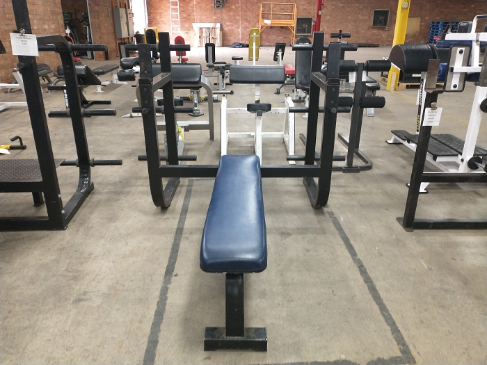 Flat Olympic Bench - Used