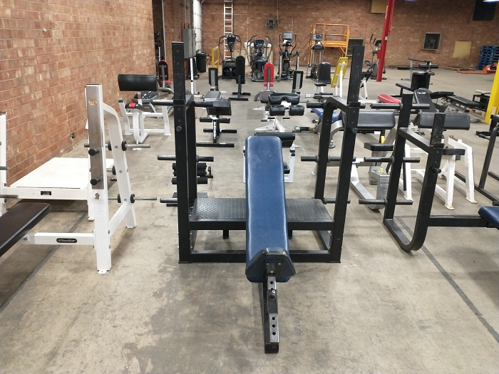 Incline Olympic Bench - Used