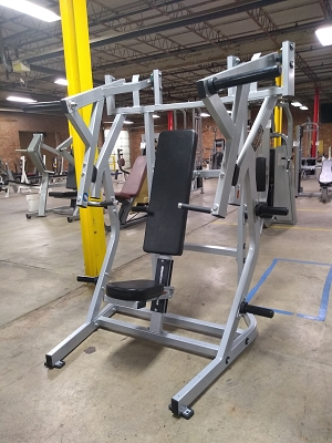 Ironclad Old School Bench Press Plate Loaded Machine - New