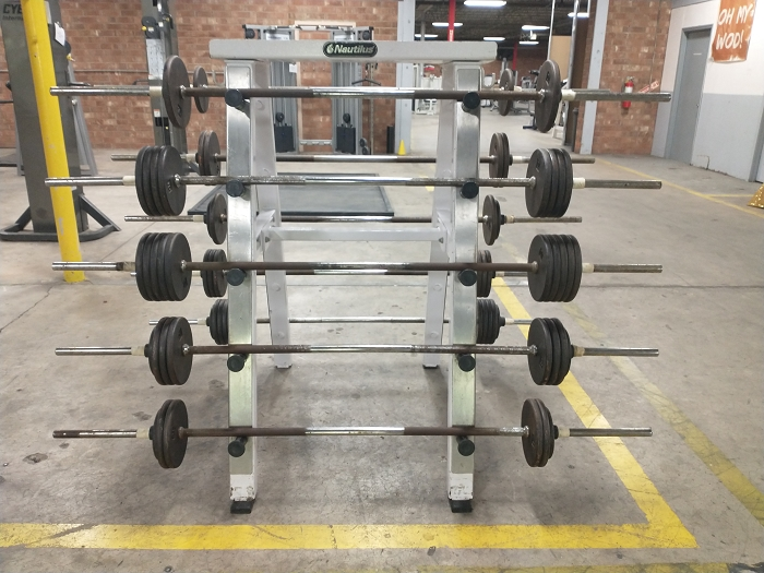 Nautilus Fixed Barbell Set - Used