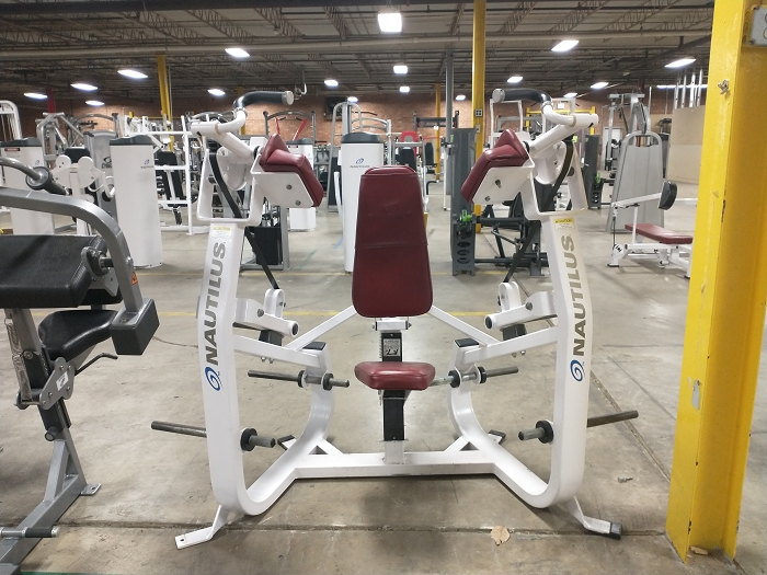 Nautilus Xload Bicep Machine - Used