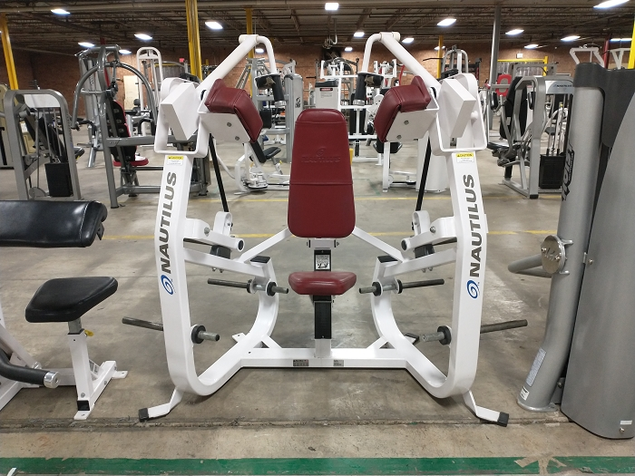 Nautilus Xload Tricep Machine - Used
