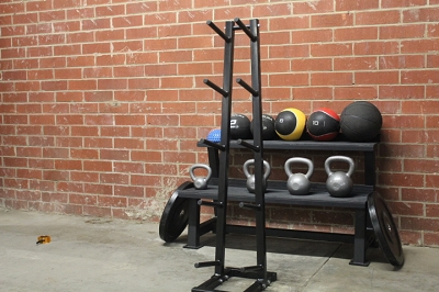 Rugged Fitness Medicine Ball Rack