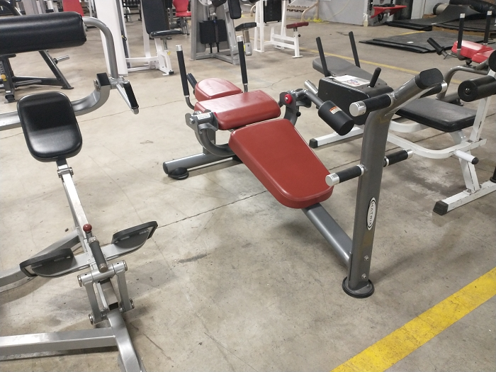 Matrix Plate Loaded Sit Up Bench - Used